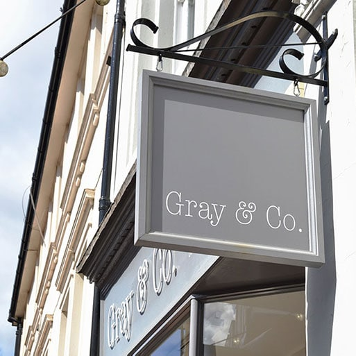 Menswear Gift Cards at Gray and Co