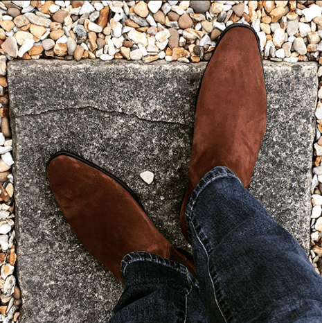 Mens Footwear at Gray & Co. - Suede Boots