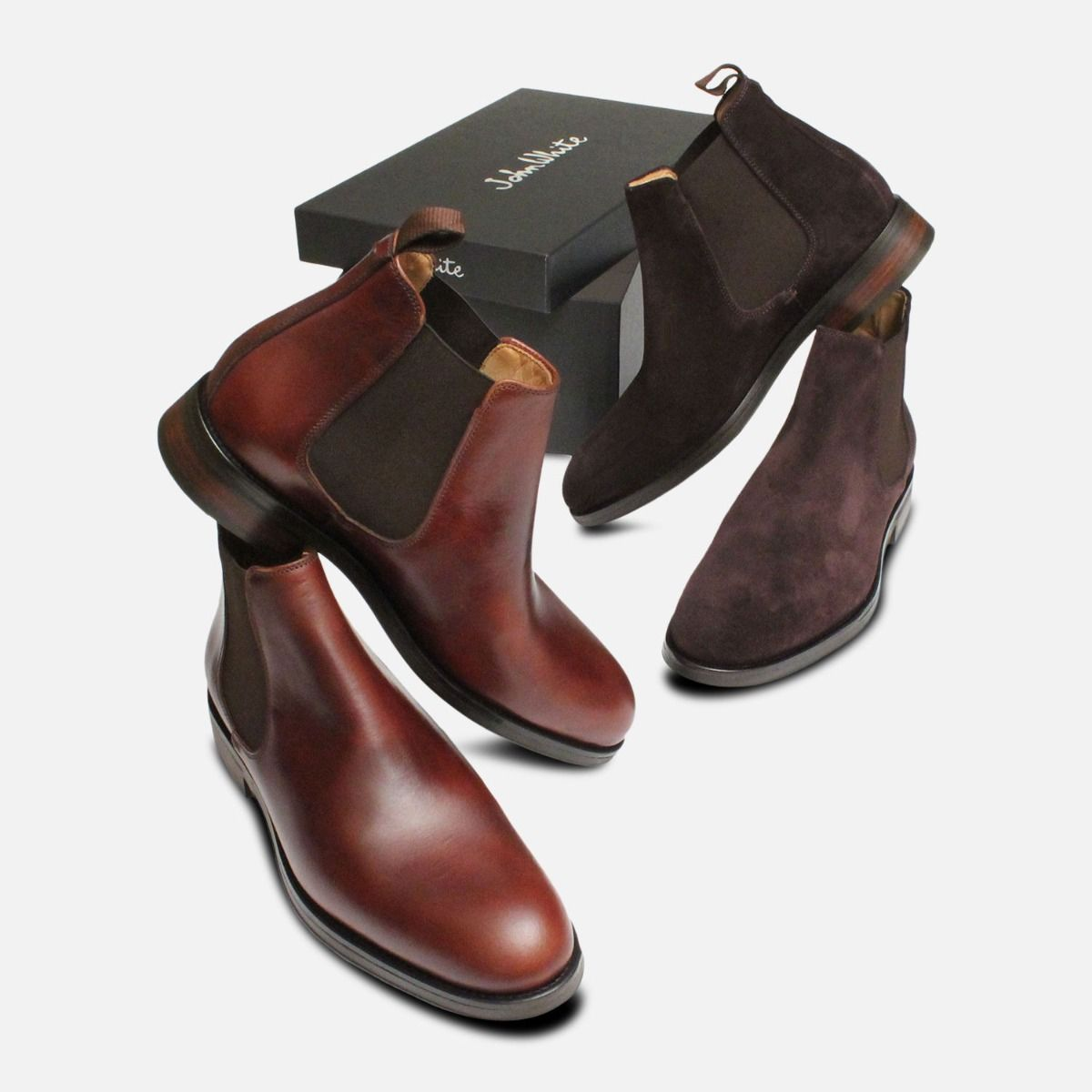 Mens Footwear in Tunbridge Wells at Gray & Co. - Chelsea Boots by John White