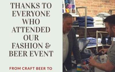 Thanks for the Beer & Fashion Event