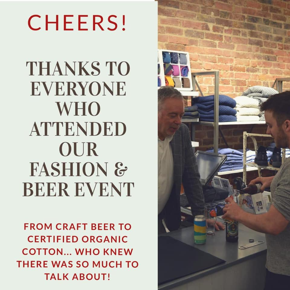 Beer and fashion event