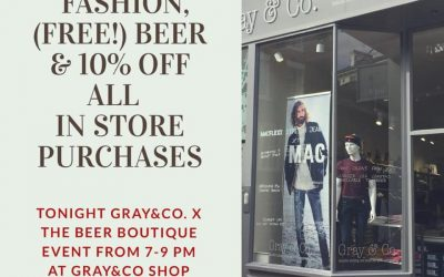Tonight only Fashion & Free Beer! & 10% off